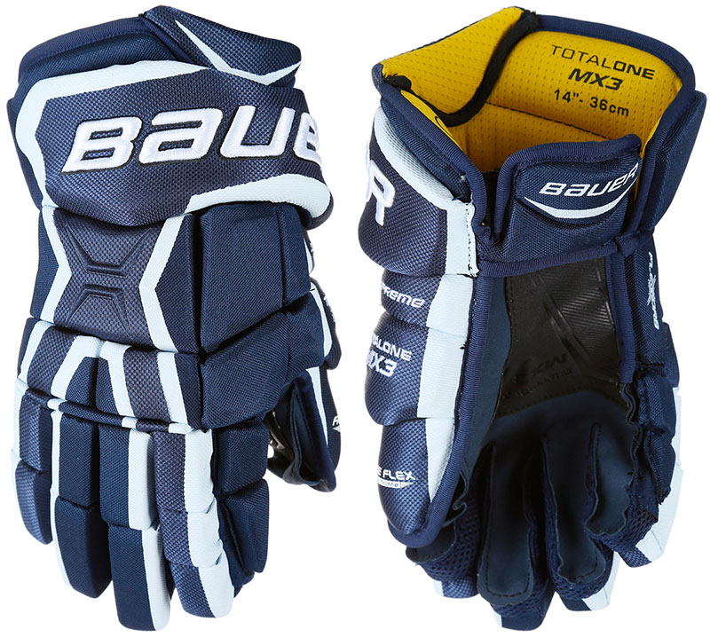 Перчатки BAUER Supreme Total one MX3 JR